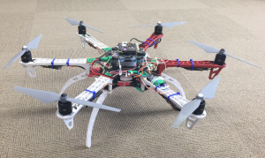Aerotenna's Zynq Flight Controller on DJI F550 airframe