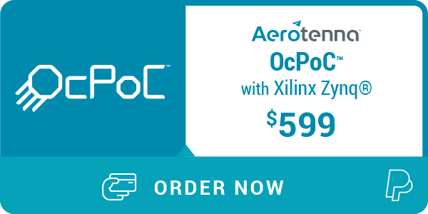 OcPoC™ with Xilinx Zynq® SoC Flight Controller - Aerotenna